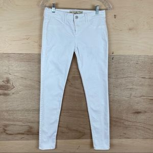 Hollister White Jeans Size 3R